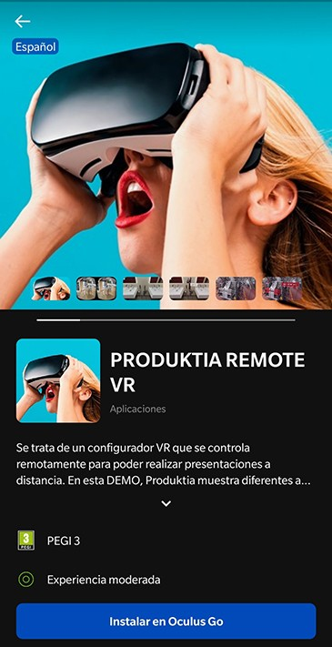 Oculus en Produktia