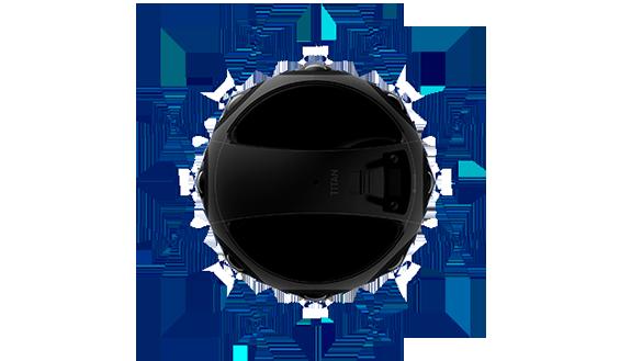Características cámara VR Insta360 Titan